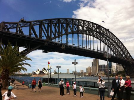 Harbour Bridge de Milsons Point