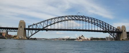 Vista da Harbour Bridge